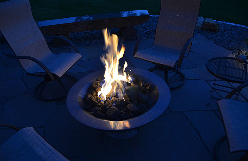 fire features - fire bowl, fire table, fire pit, outdoor fireplace