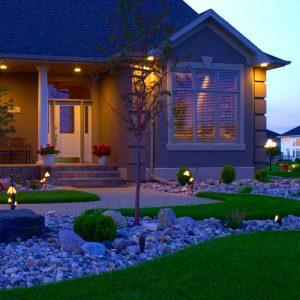 House Lighting Landscaping Fargo ND NEL