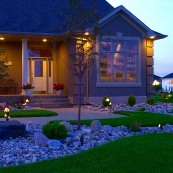 House Lighting Landscaping Fargo ND NEL